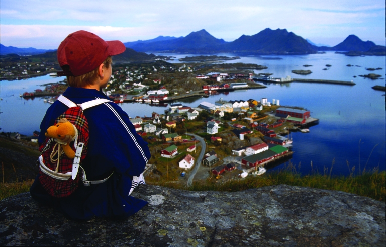 We have hostels at the Lofoten Islands