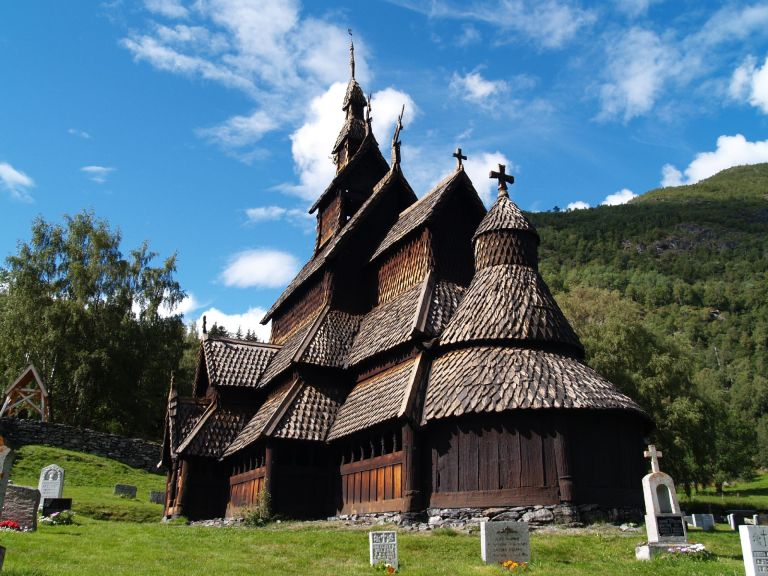 Borgund Church - Photo: Wikipedia