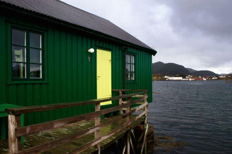 Fisherman's cabin in Ballstad Hostel