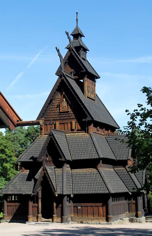 Stave Church in the Folk Museum, Oslo