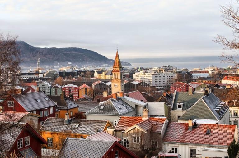 Trondheim - bilde Marion og Gavin