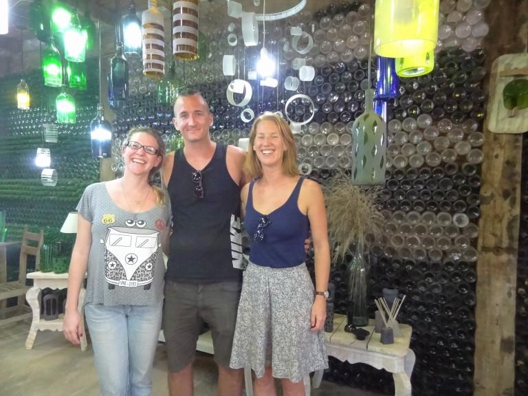 Gina, Michael & Kaja at Casa do Vidro