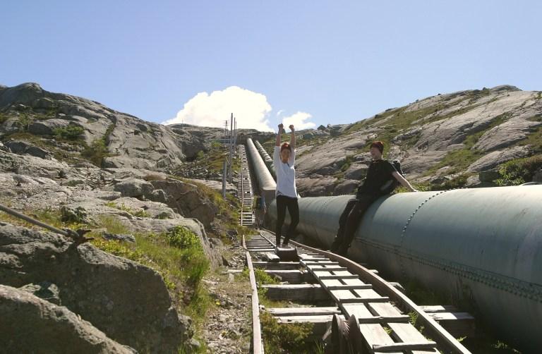 Bilde 1 toppen av trappen foto Norske Vandrerhjem